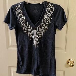 🔥3/$10 Energie embellished t-shirt